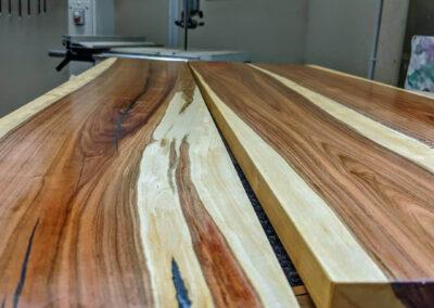 Kirschbaum Salon Tisch Schweizer Holz handgemacht